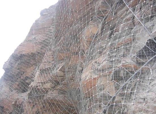 重庆柔性边坡防护网